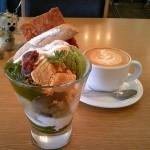 medewo&dine『日本茶パフェ~お茶づくし~』