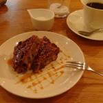 もぐら食堂『ダブルキャラメルバナナケーキ』『かぼちゃのケーキ』