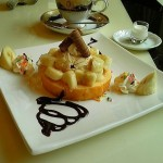 Pure Cafe ZEN『バナナジュレ・バームクーヘン』