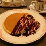 珈琲苑『ホットケーキ(チョコレート)』