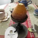 chocoro baumkuchen&cafe『エッグバウム(カスタード)』『リングバウム(チョコレート)』