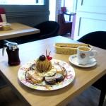 Mee's Pancake『チョコレートモンブランデラックスパンケーキ』