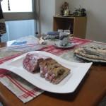 Cafe 中野屋『和栗とカシス、胡桃キャラメリゼのシュトーレン』