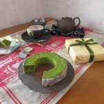 創作菓子の店 ヴィヨン『抹茶バウムクーヘン』