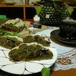 Cafe 中野屋『抹茶のシュトーレン』『紫芋と黒糖のシュトーレン』