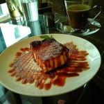 SUZU CAFE『焦がしキャラメルの濃厚チーズケーキ』