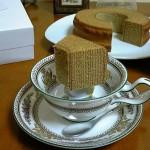 フルリール芦屋『紅茶バウム』『栗と金時芋の秋バウム』
