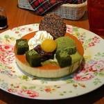 Mee's Pancake『パンケーキ 小倉抹茶&生クリーム』