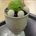 IORI cafe『特選 抹茶パフェ』