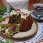 焼き菓子屋 aco's『お抹茶のクグロフ』『イチジクのクグロフ』