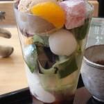 森乃園茶房『特上パフェ』『高級手作り生チョコレートパフェ』