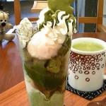 日本茶専門 茶倉『抹茶パフェ』