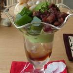 和カフェ もちの花『和風パフェ』