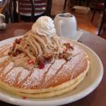 AMANDINE『和栗と仏産マロンのモンブランパンケーキ』