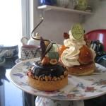 パティスリー ショコラトリー シャンドワゾー『グルマンディーズ・デ・ドワゾー』『サントノーレ・キャラメル・ノア』