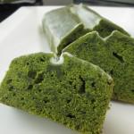抹茶パウンドケーキ(2016.1.21焼成)
