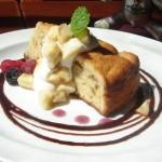 tokyo salonard cafe:dub『バナナとクルミのケーキ』