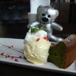 ANALOG CAFE/LOUNGE TOKYO『抹茶のガトーショコラ』