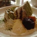 ライティングマテリアルカフェ『抹茶のシフォン』