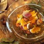 Cafe 中野屋『小さな秋 和栗とムースショコラ、焙じ茶アイス』