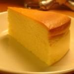 ふるほん結構人ミルクホール『チーズケーキ』