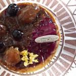 パティスリー ショコラトリー シャンドワゾー『タルト・カシス・エ・フィグ』『ムース・オ・ショコラ・トンカ』