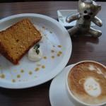 ericafe『キャラメルシフォンケーキ』