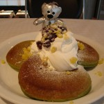 モトヤ.Pancake Ristorante『抹茶&マロンパンケーキ』