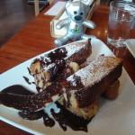 kaoris『パティシエレシピのチョコレートソースとバナナのフレンチトースト』