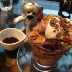 SUZU CAFE『フォンダンショコラパフェ』