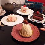 柿の木坂 キャトル『和栗のモンブラン』『桜ケーキ』『あまおうショート』『ベリーショコラ』
