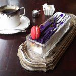 紫芋のモンブランパフェ