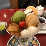 甘や 麻布茶房『和風ババロアパフェ~抹茶ときなこ~』