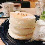 バーンサイドストリートカフェ『ホワイトスフレパンケーキ』