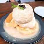 ESPRESSO D WORKS『タピオカミルクティーパンケーキ』