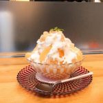 銀座 福禄寿『カスピ海ヨーグルトと桃のかき氷』