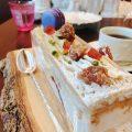 和栗とカシスのパフェ